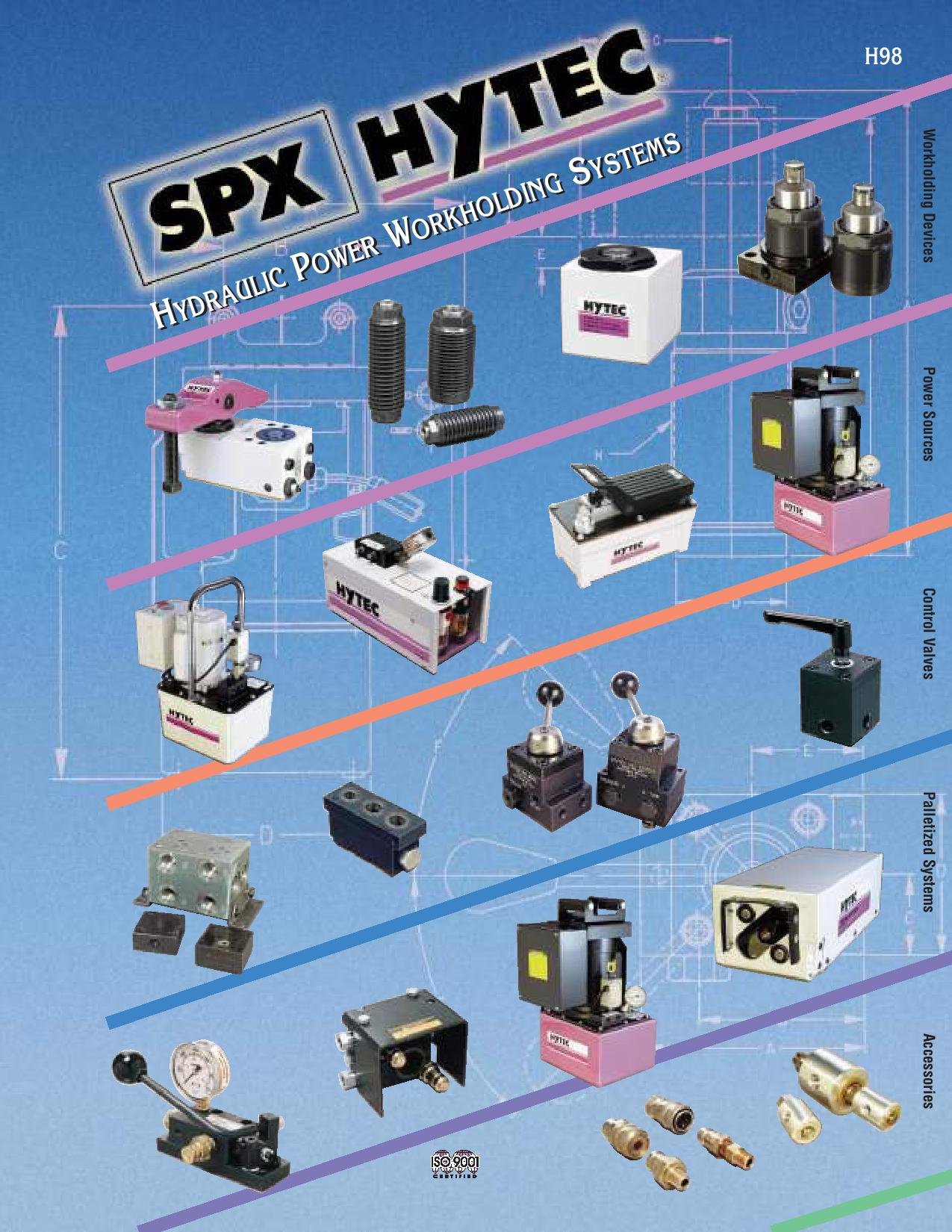 Catalogue SPX POWERTEAM H98