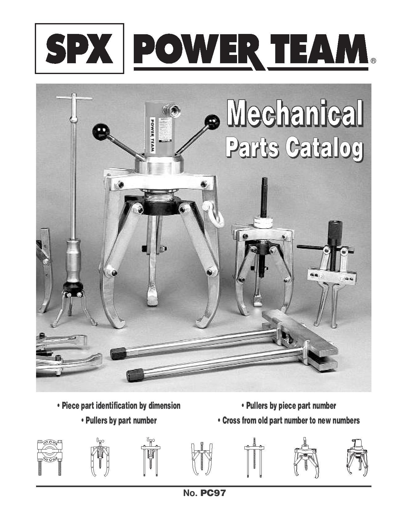 Catalogue SPX POWERTEAM outillage mécanique1