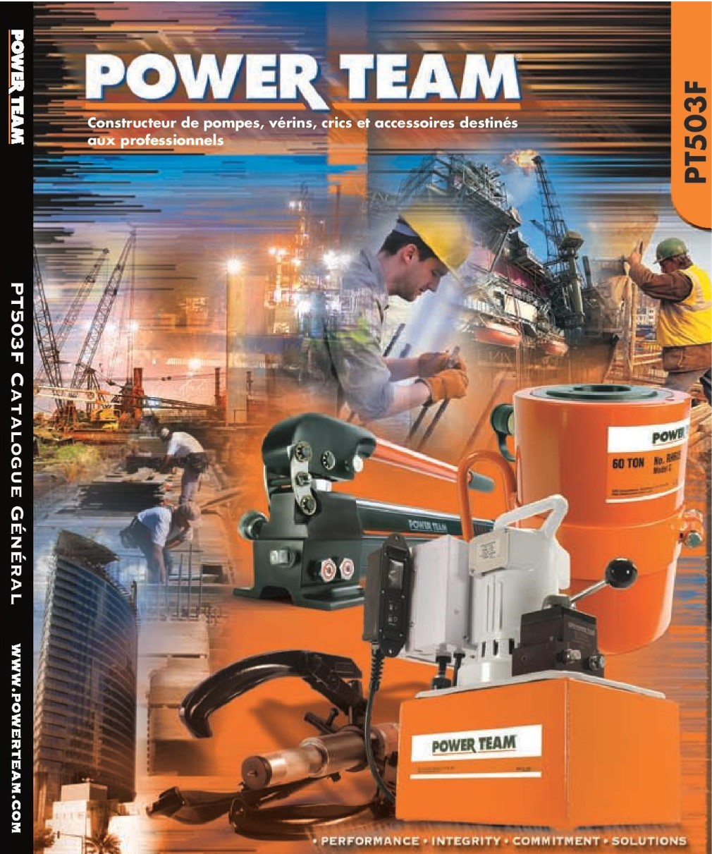 Power team 503f couverture