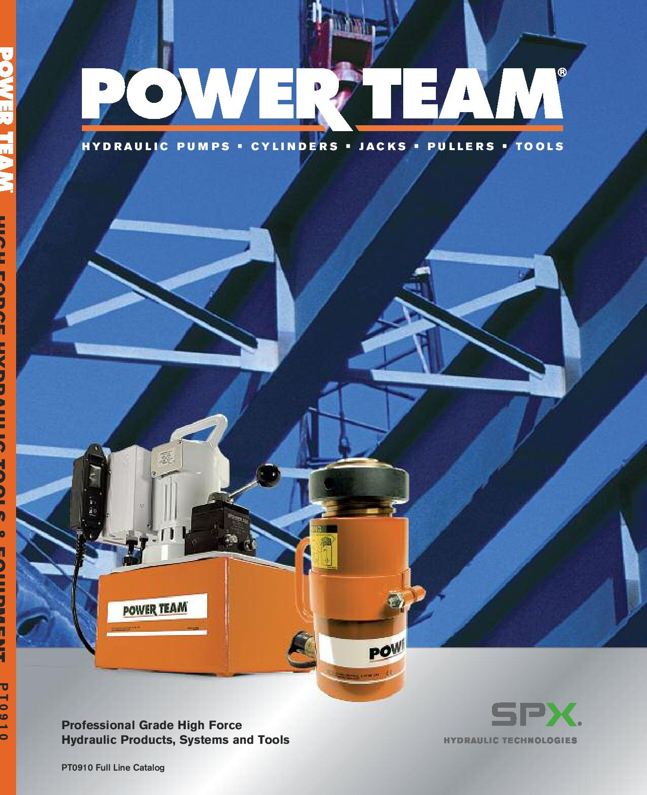 Catalogue SPX Powerteam 910