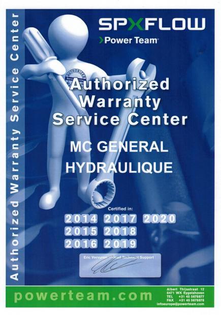 Spx service center 2020